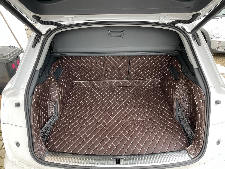 Exclusive Kofferraummatte für Audi Q7 5 Sitzer ohne Varioschienen ab 6.2015